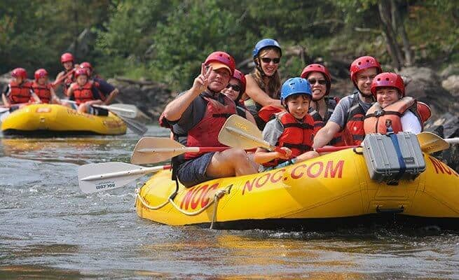 Things to do in asheville with kids -Rafting the French Broad River