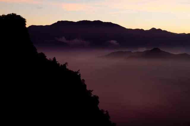 Sea of clouds, Taiwan