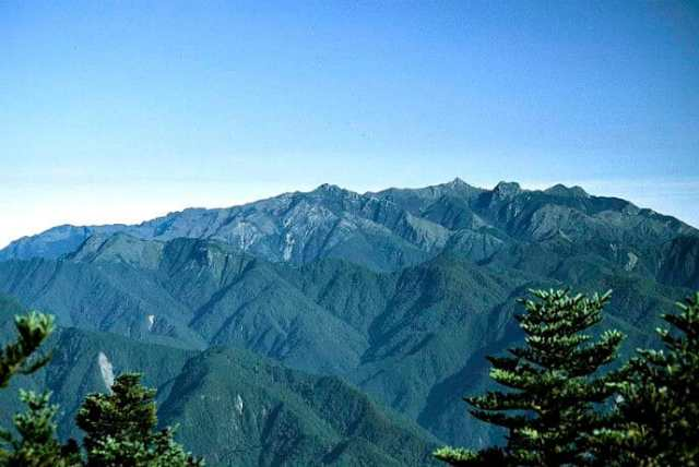 Yu Shan aka Jade Mountain, Taiwan