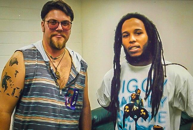 Bret Love with Ziggy Marley