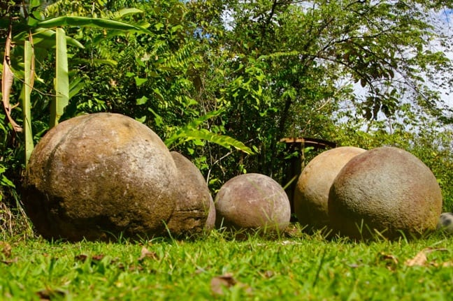 Stones Spheres at Finca 6 Archaeological Site, Costa Rica