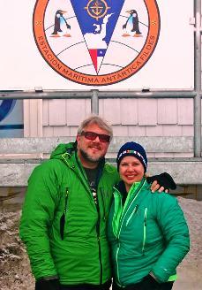 Eddie Bauer First Ascent Jackets in Antarctica