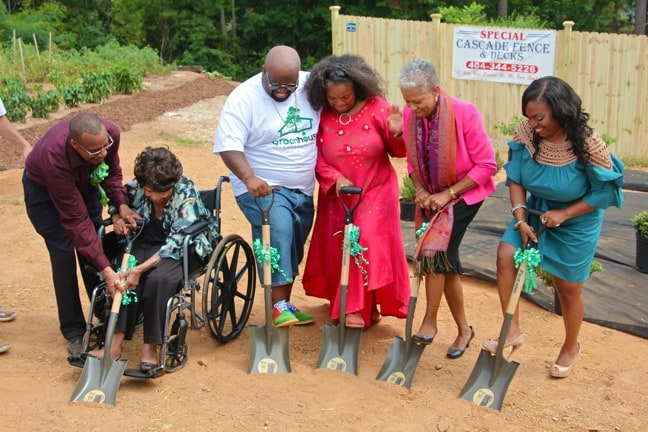 Breaking Ground for GreenHouse Foundation at Southwest Atlanta Christian Academy