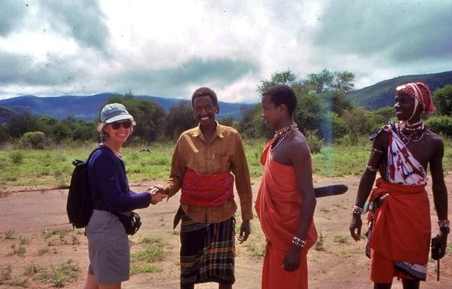 Megan Epler Wood Meets the Maasai in Kenya