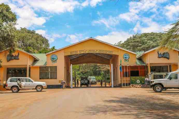 Ngorongoro Conservation Area Entrance