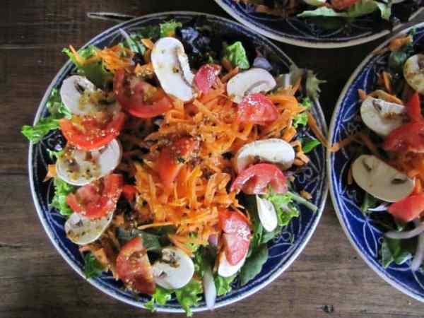 Plant-based Lunch at La Juanita Finca Verde