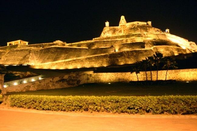 Castilla San Felipe de Barajas in Cartagena, Colombia