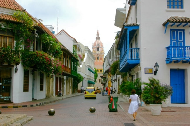 Colonial Architecture of Cartagena, Colombia