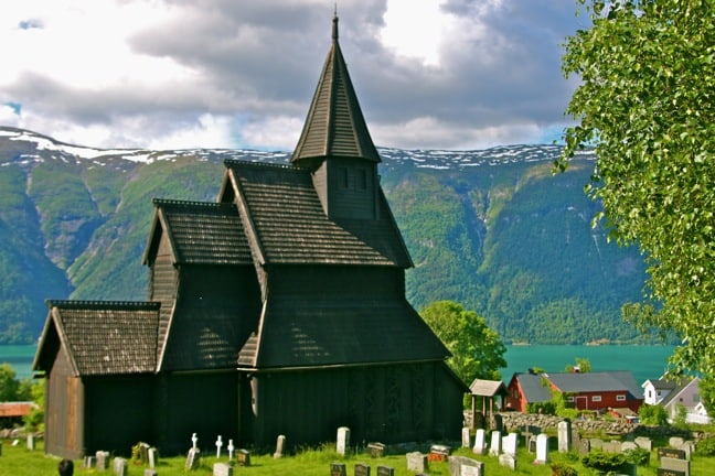 A Rare Look Inside 900-Year-Old Urnes Stave Church