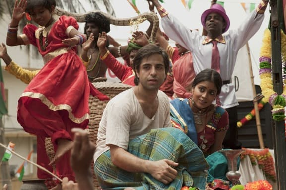 Satya Bhabha as Saleem in Midnight's Children