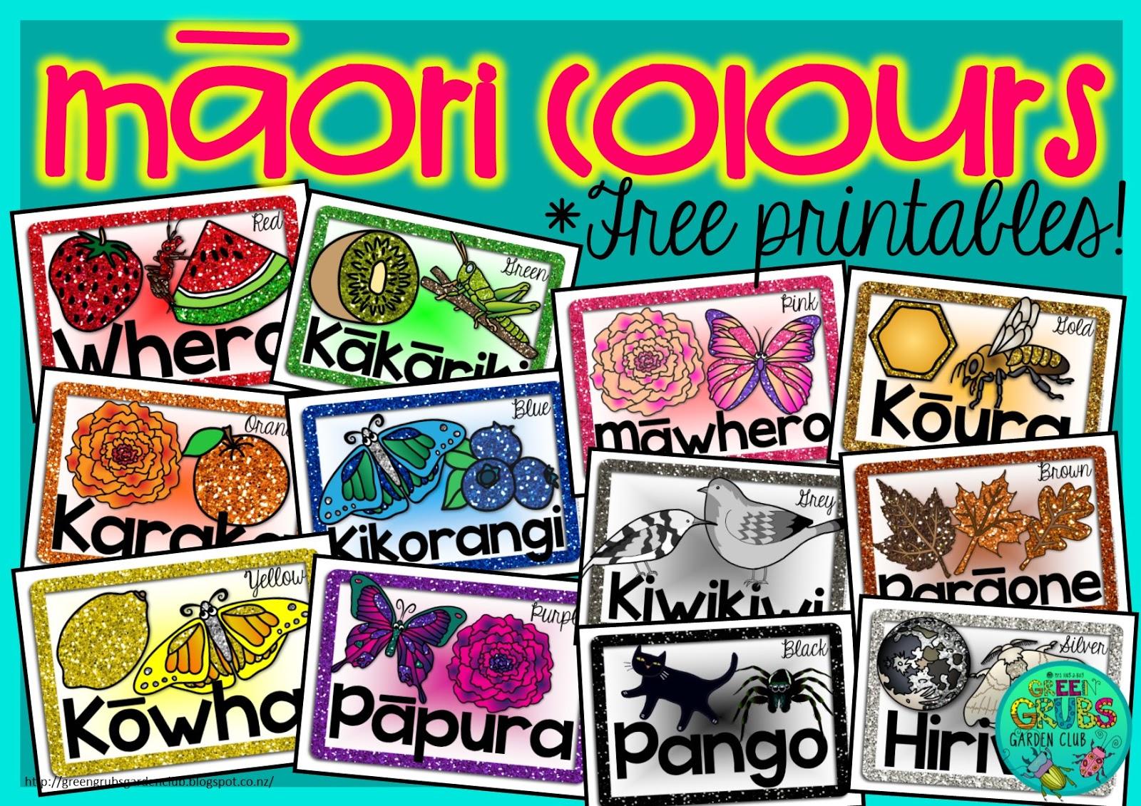 M Ori Amp Samoan Colours Free Prinatable Mini Posters