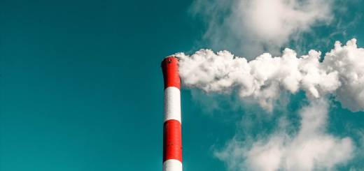 Chimney stack: a resin developed by a team at Swansea University could help improve carbon capture materials. Credit Veeterzy.