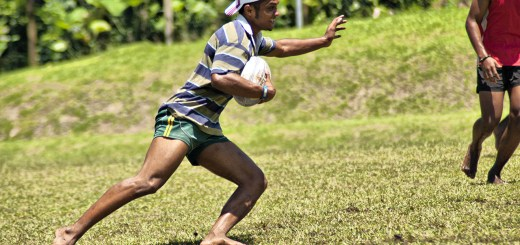 Barefoot rugby in Fiji. Photo by Kyle Post / Flickr