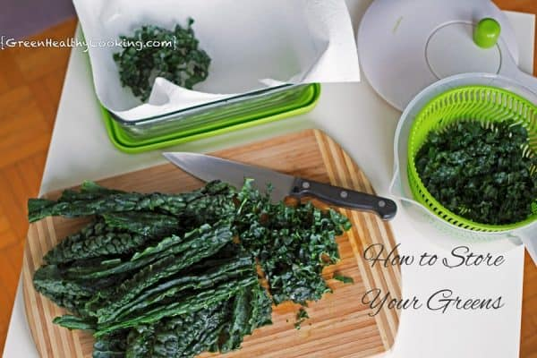 How to Store Your Greens