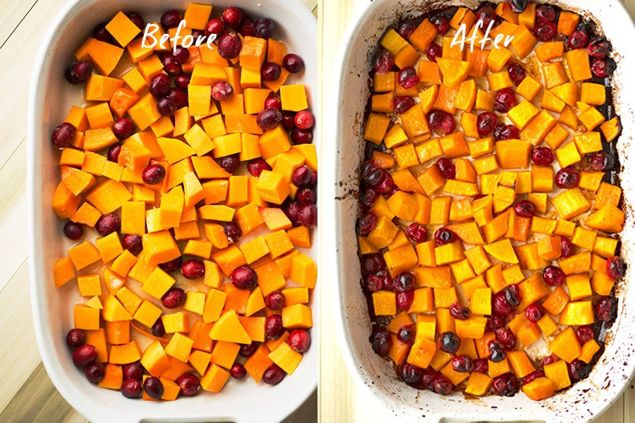 Butternut Cranberry Winter Salad 1