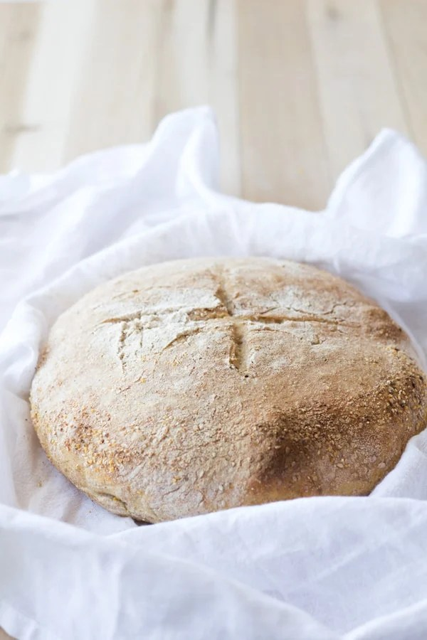 No-Kead Sesame Seed Bread 2