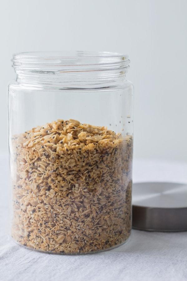 Nutfree Coconut Chia Granola 2