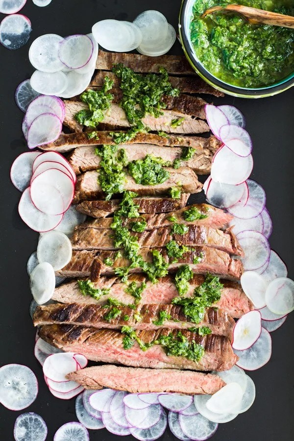 Perfect Flank Steak with Argentinian Chimichurri 2