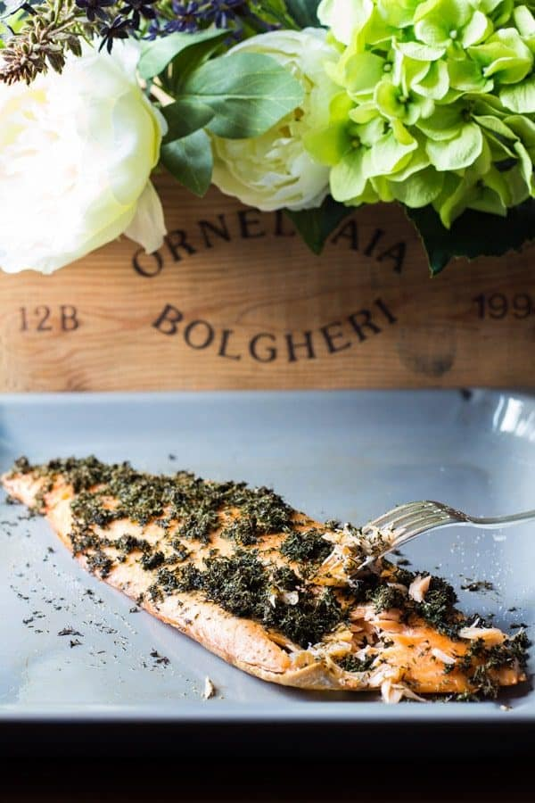 You need a fancy dinner in 5 minutes prep time, 20 minutes total time? This Dill Butter Baked Salmon is your best friend. Amazing taste. Impressive dinner!