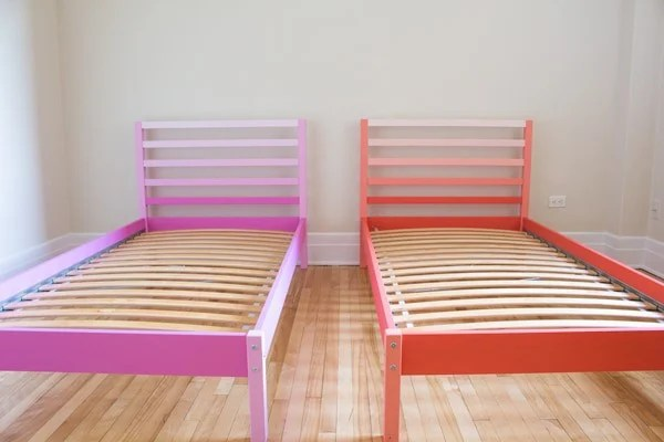 "This Ikea Tarva Bed Hack is intended to serve as inspiration on ""how to pimp your simple wooden furniture"""