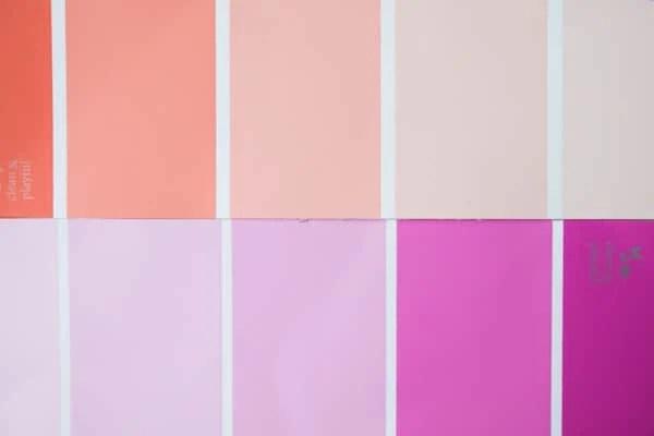 Ikea Tarva Bed Hack Color palette.