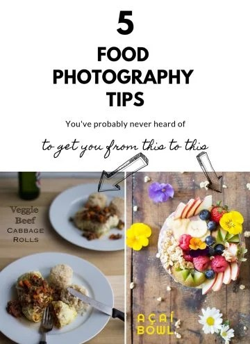 Food Photography Tips Collage