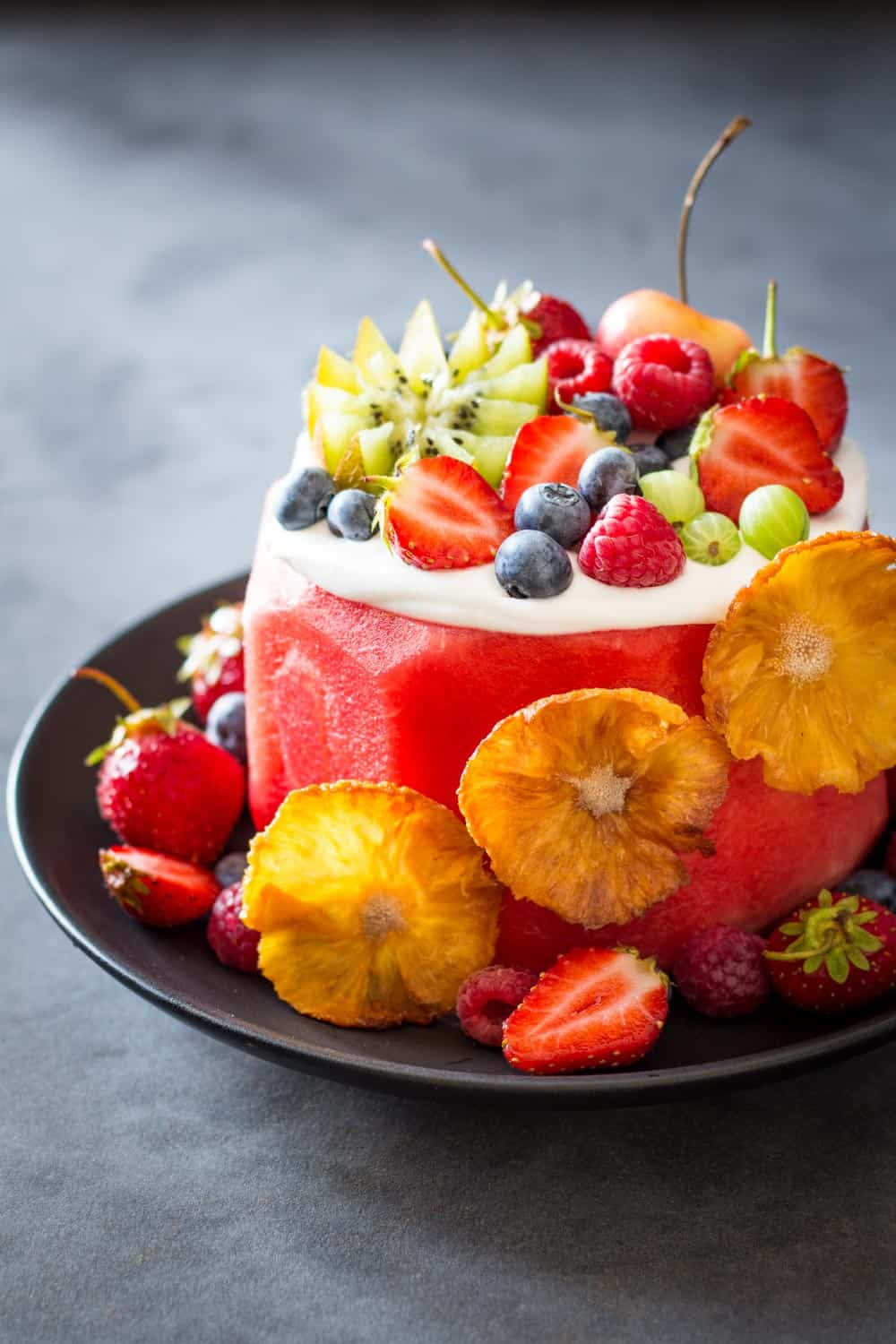 Fine Vegan Watermelon Cake Green Healthy Cooking Funny Birthday Cards Online Inifofree Goldxyz