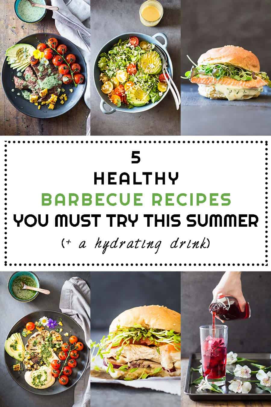 5 Healthy Barbecue Recipes You Must Try This Summer is a compilation of healthy recipes for every diet. Enjoy every minute of summer while you still can!!!