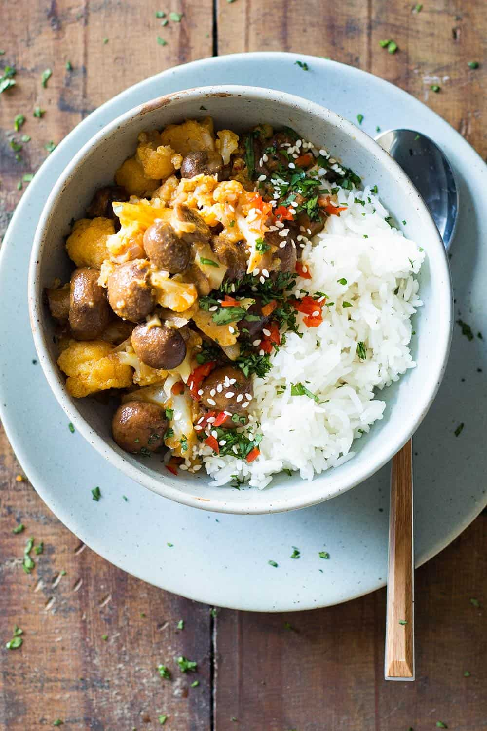Vegan yellow curry