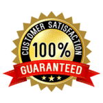 100% Guaranteed Customer Satisfaction seal.