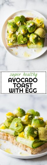 It's so incredibly easy to make this Avocado Toast with Egg you won't believe it! The hardest part is watch the water boil to cook the egg in it!