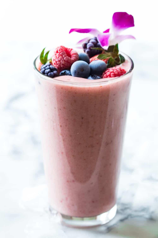 recipe: blueberry oatmeal smoothie without yogurt [14]