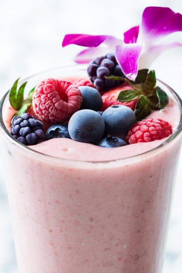 Strawberry smoothie without yogurt