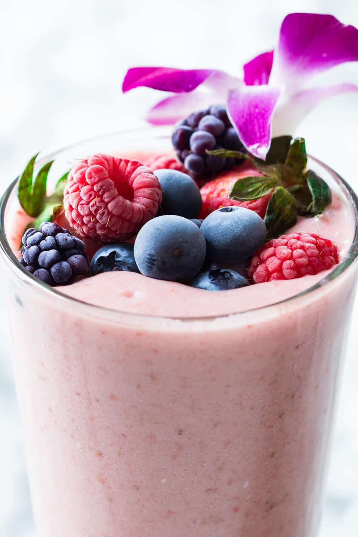 Strawberry smoothie without yogurt