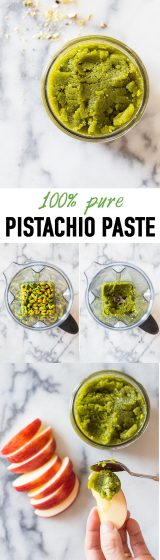 Want to know how to make 100% pure Pistachio Paste? It's super easy and you get some active meditation done while you make it ;)