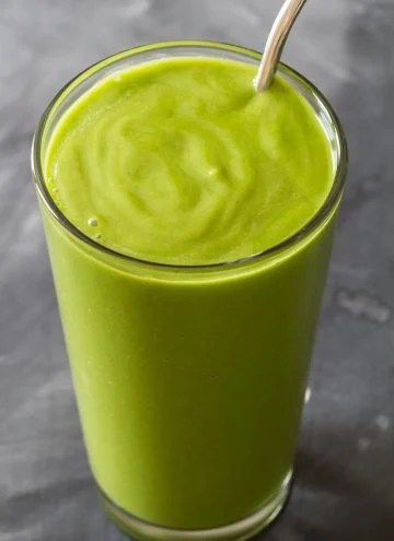 Avocado spinach smoothie