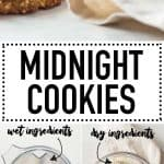 Midnight Cookies are made of all insomnia-fighting ingredients! The best midnight snack recipe ever! Refined sugar-free but still deliciously sweet and full of healthy fats to keep you satisfied all night.