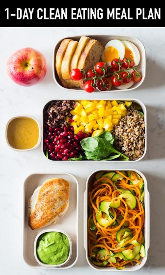 What is clean eating, how to make a 1-day clean eating meal plan, how to start a clean eating diet? This and delicious clean recipes all in one post.
