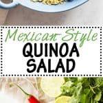 Mexican Quinoa Salad with Avocado