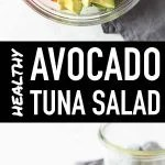 Avocado Tuna Salad Pin Image