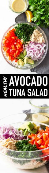 Avocado Tuna Salad Pin Image