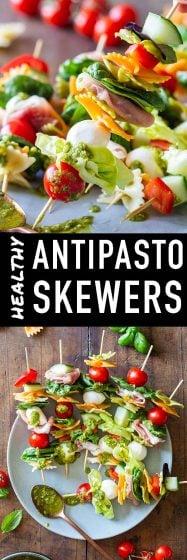Pin for Antipasto Skewers