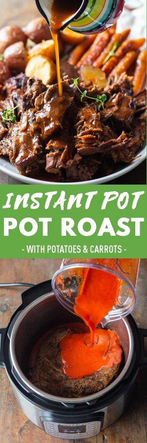 Instant Pot Pot Roast Pin