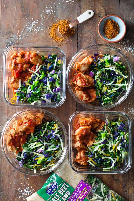 Cajun Chicken Meal Prep Bowls