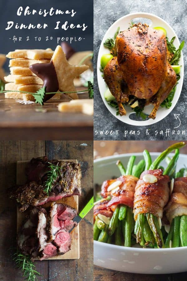 Christmas Dinner Ideas - Mains, Sides, Desserts