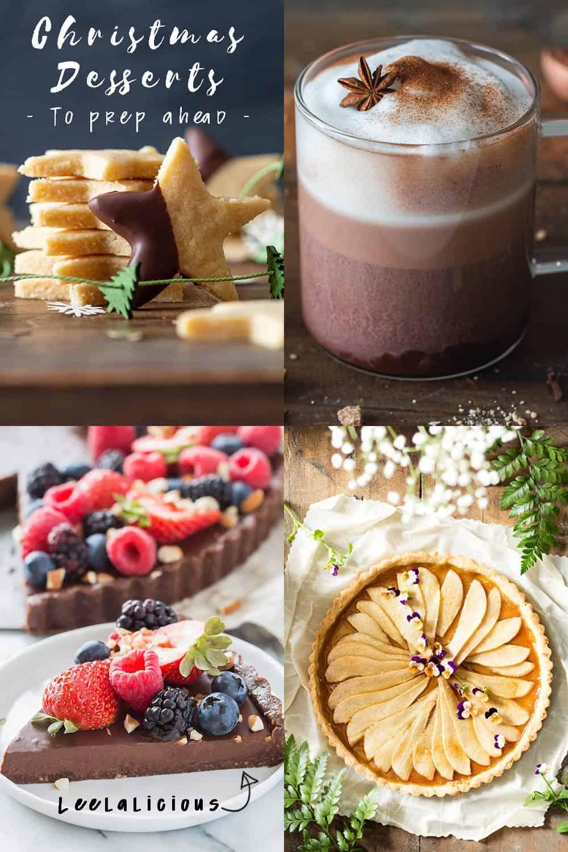 Christmas Dinner Ideas for Dessert