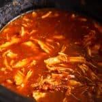 Crockpot Chicken Tacos - Chicken Tinga