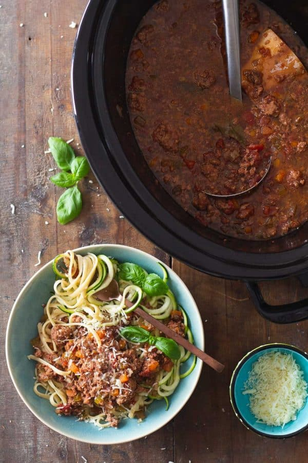 Crock Pot Bolognese
