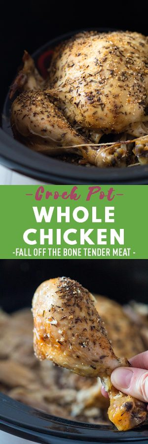 Crock Pot Whole Chicken Pin