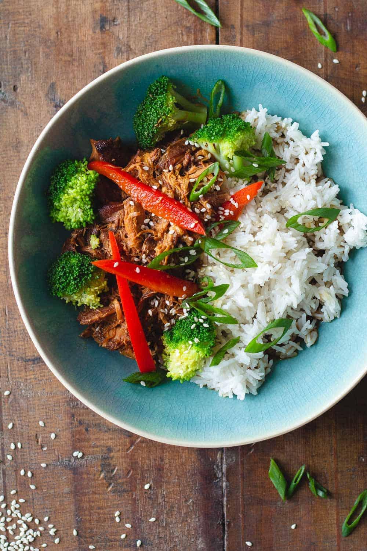Healthy Crock Pot Teriyaki Chicken
